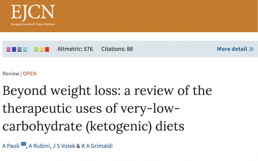Does Evidence Exist To Support A Low Carb-Ketogenic Diet?